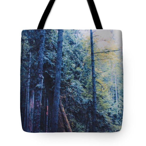 Blue Forest by jrr Tote Bag by First Star Art