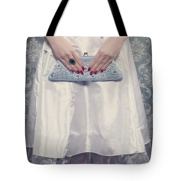 Blue Handbag Tote Bag by Joana Kruse