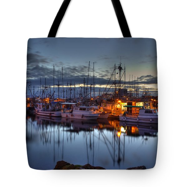 Blue Hour Tote Bag by Randy Hall