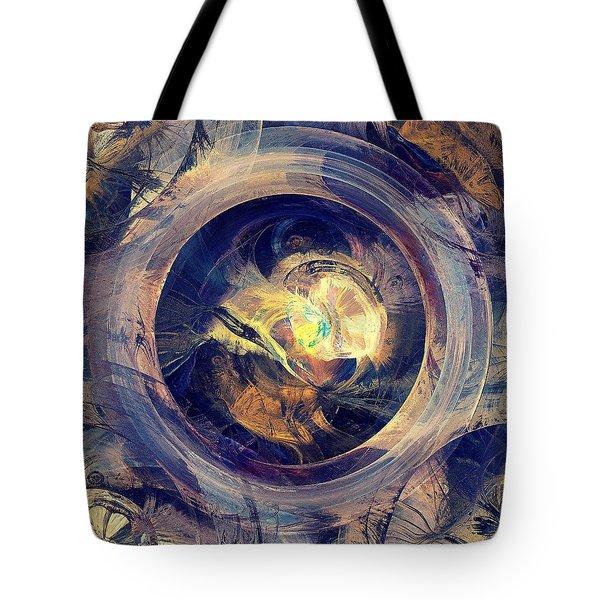 Blue Legend Tote Bag by Anastasiya Malakhova