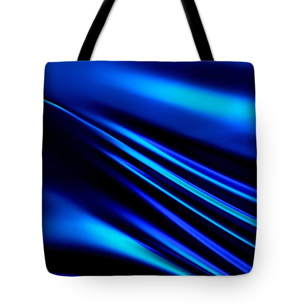 Blue Light Tote Bag by Art Block Collections