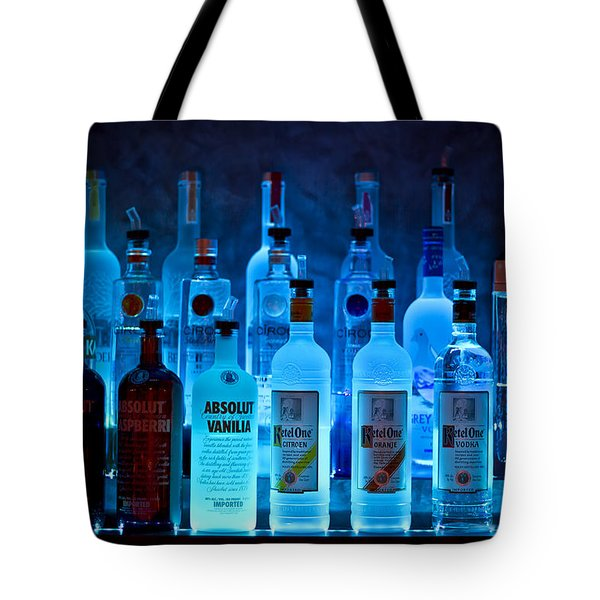 Blue Night Shadows Tote Bag by Evelina Kremsdorf
