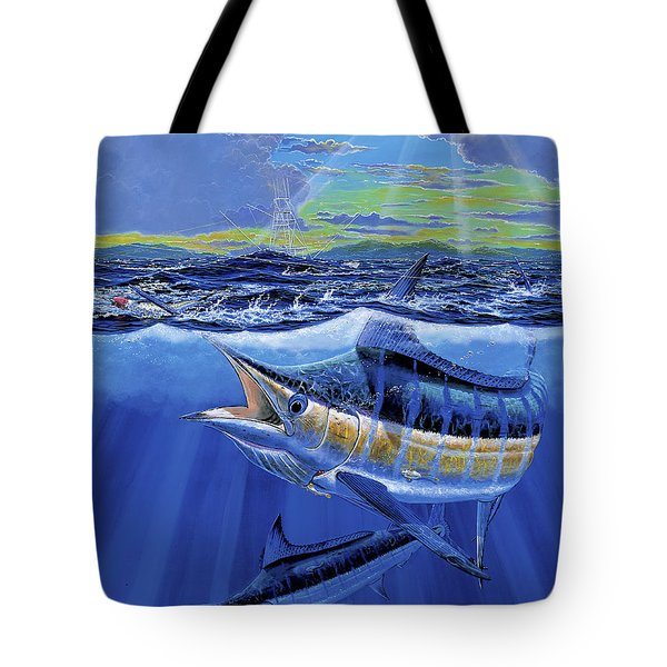 Blue Pitcher Off00115 Tote Bag by Carey Chen