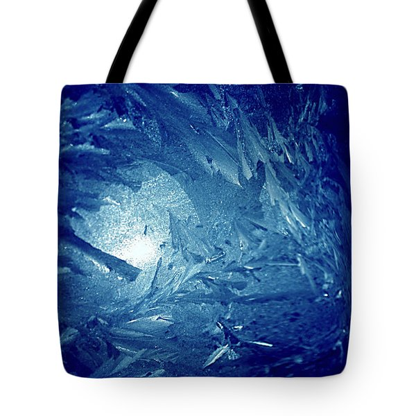 Blue Tote Bag by Richard Thomas