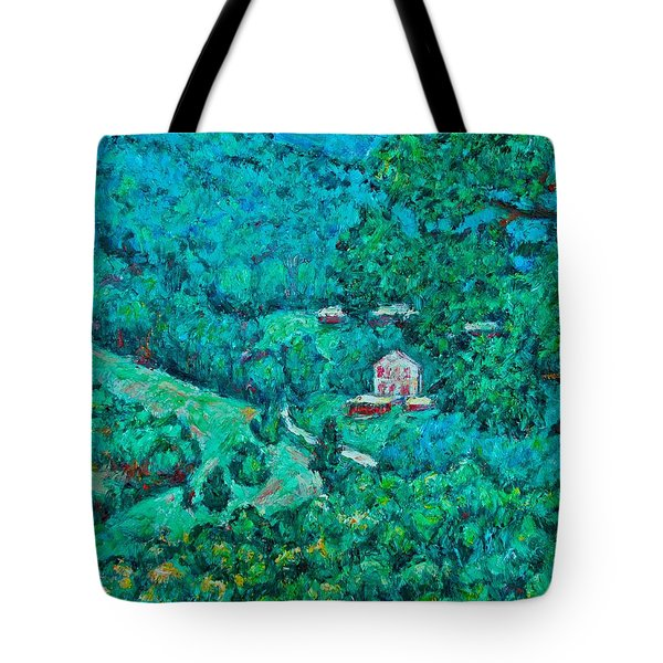 Blue Ridge Magic Tote Bag by Kendall Kessler