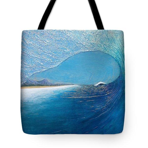 Blue Room Tote Bag by Nathan Ledyard