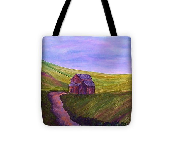 Blue Skies In The Hill Country Tote Bag by Eloise Schneider