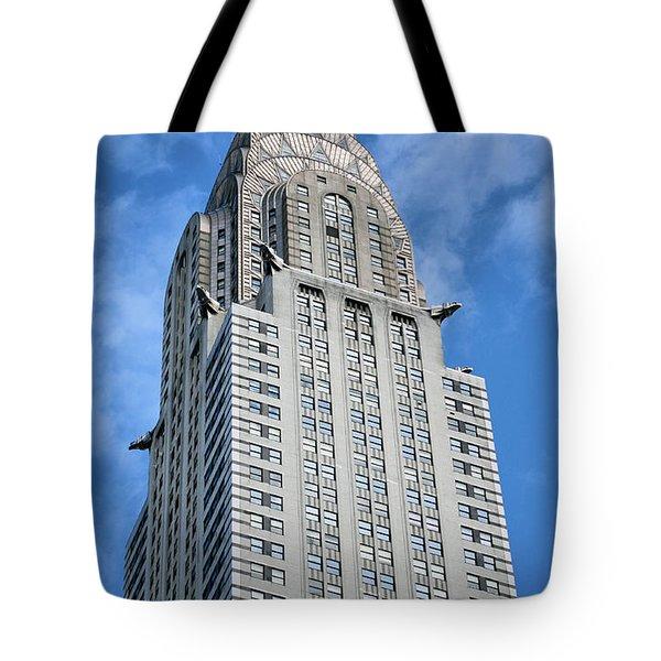 Blue Skies Tote Bag by JC Findley