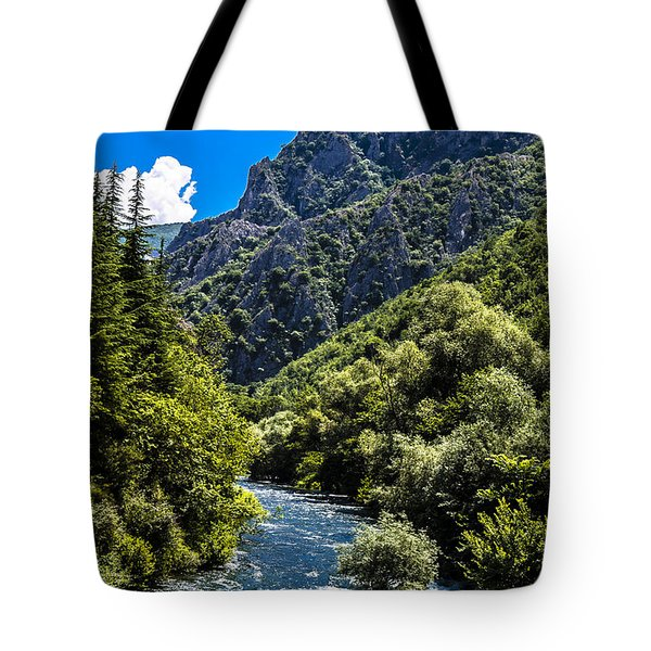 Blue Sky Tote Bag by Sotiris Filippou