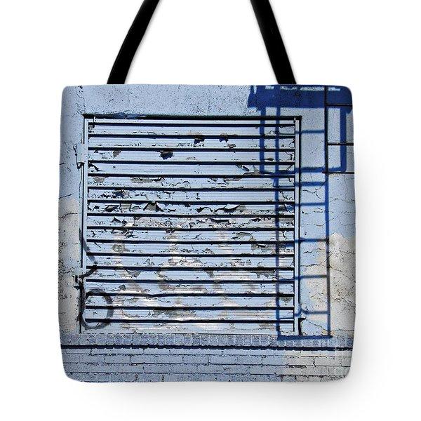 Blue Wall Tote Bag by Sarah Loft