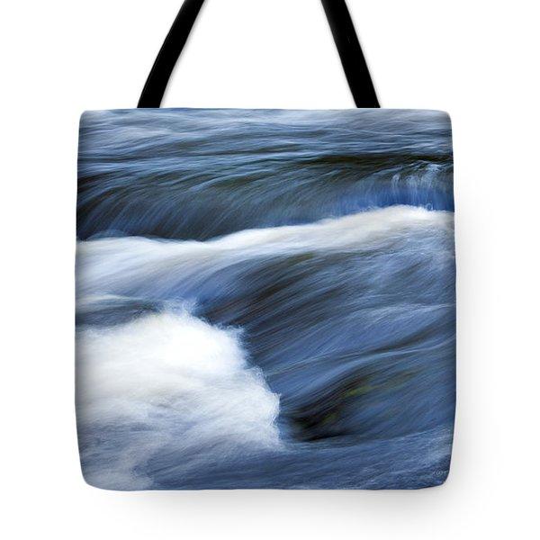 Blue Waltz Tote Bag by Glenn Gordon