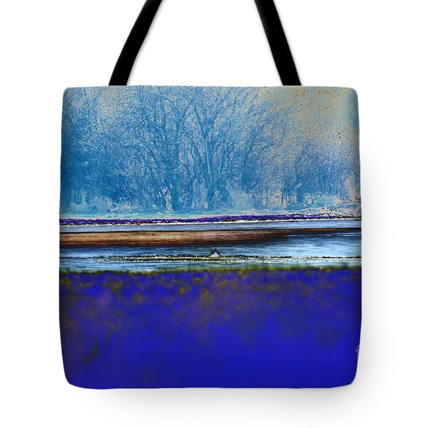 Blue Water Tote Bag by Carol Lynch
