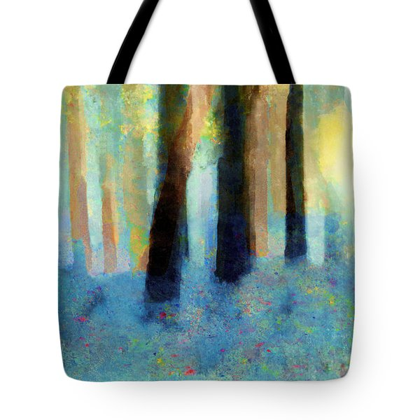 Bluebell Wood Tote Bag by Valerie Anne Kelly