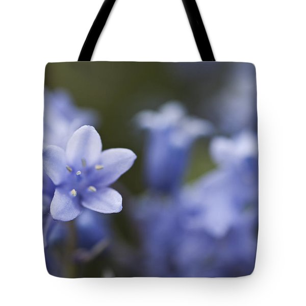 Bluebells 3 Tote Bag by Steve Purnell