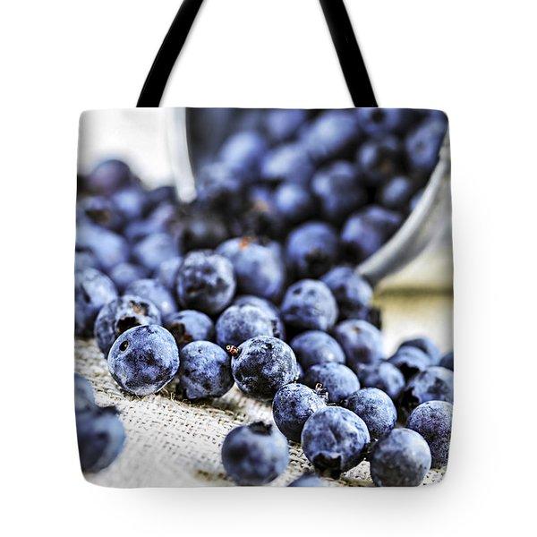 Blueberries Tote Bag by Elena Elisseeva