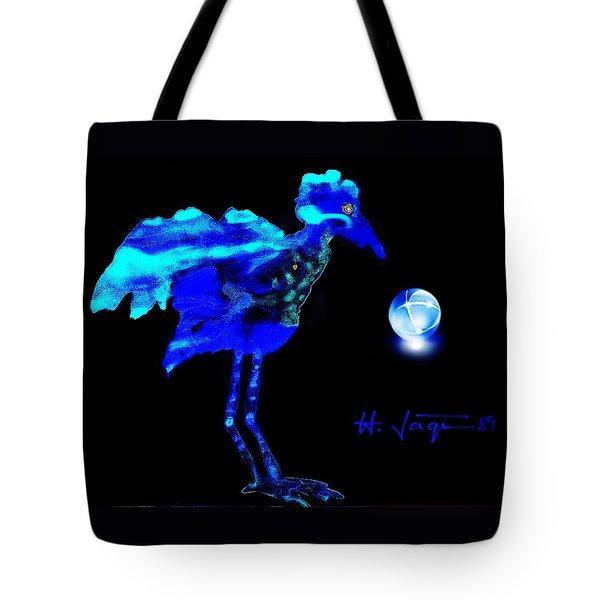 Bluebird Watching Tote Bag by Hartmut Jager