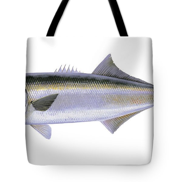 Bluefish Tote Bag by Carey Chen