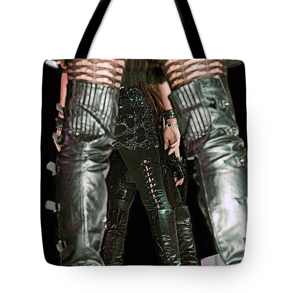Bluegirls Tote Bag by Lisa Knechtel