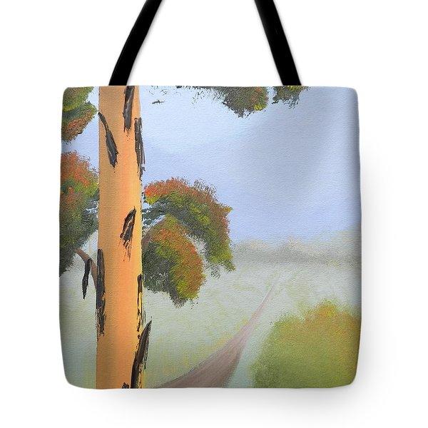 Bluegum Tote Bag by Leana De Villiers