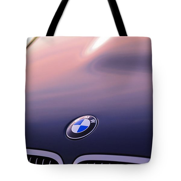 Bmw Hood Emblem Tote Bag by Jill Reger
