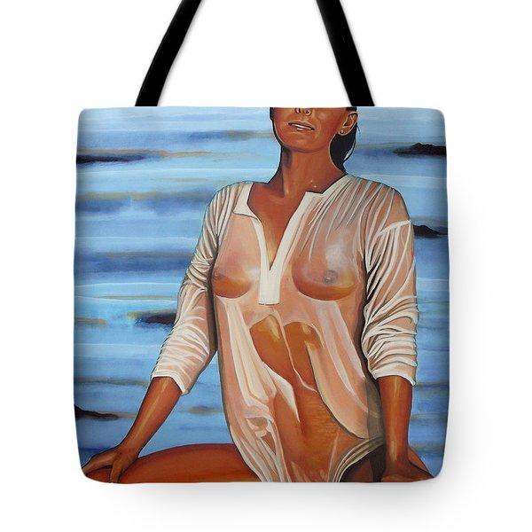 Bo Derek Tote Bag by Paul  Meijering