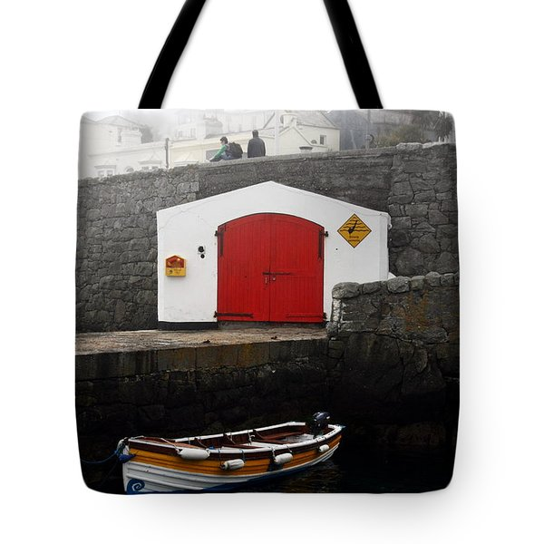 Boathouse Tote Bag by Aidan Moran