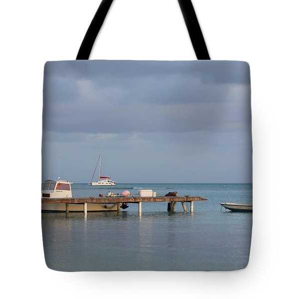 Boats at Rest Tote Bag by Eric Glaser
