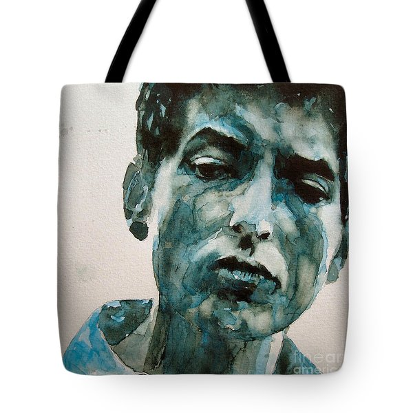Bob Dylan Tote Bag by Paul Lovering