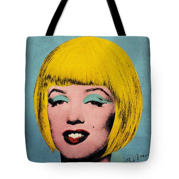 Bob Marilyn Tote Bag by Filippo B