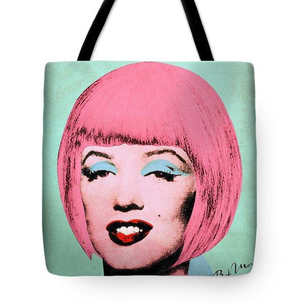 Bob Marilyn  Variant 2 Tote Bag by Filippo B