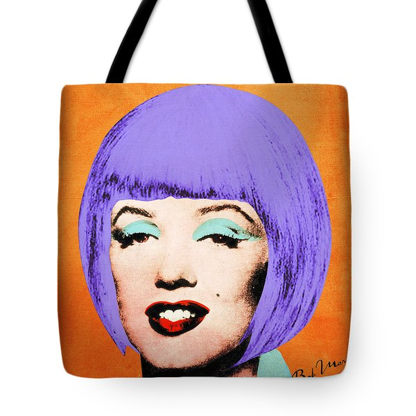 Bob Marilyn Variant 3 Tote Bag by Filippo B