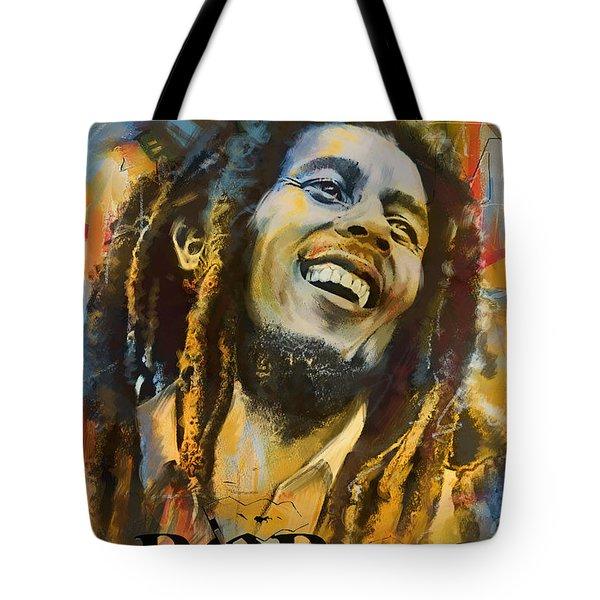 Bob Marley Tote Bag by Corporate Art Task Force