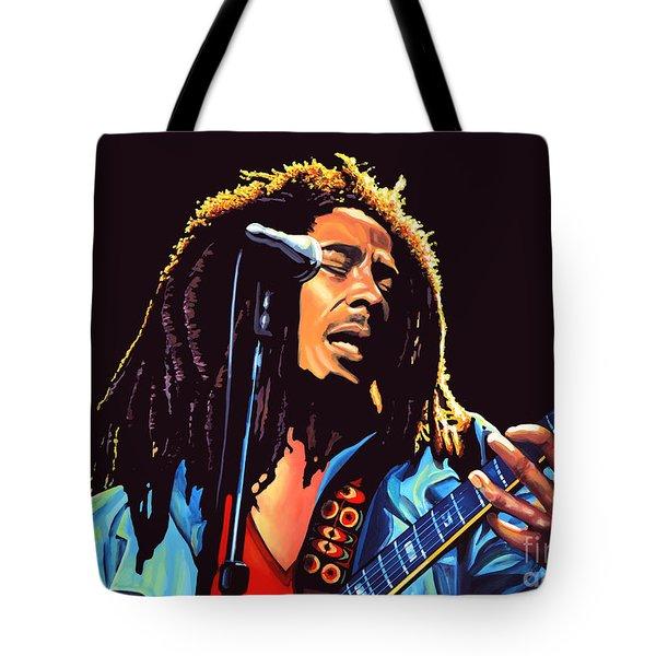 Bob Marley Tote Bag by Paul  Meijering