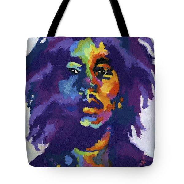 Bob Marley Tote Bag by Stephen Anderson