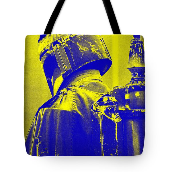 Boba Fett Costume 1 Tote Bag by Micah May
