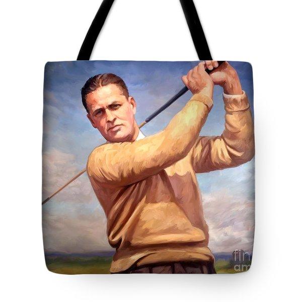bobby Jones Tote Bag by Tim Gilliland