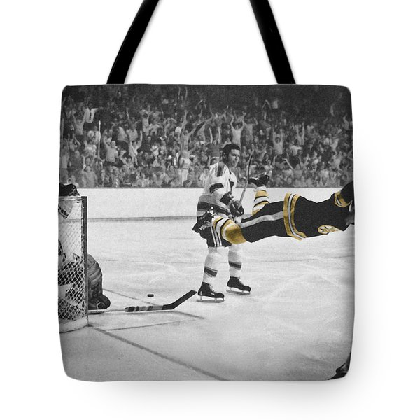 Bobby Orr 2 Tote Bag by Andrew Fare