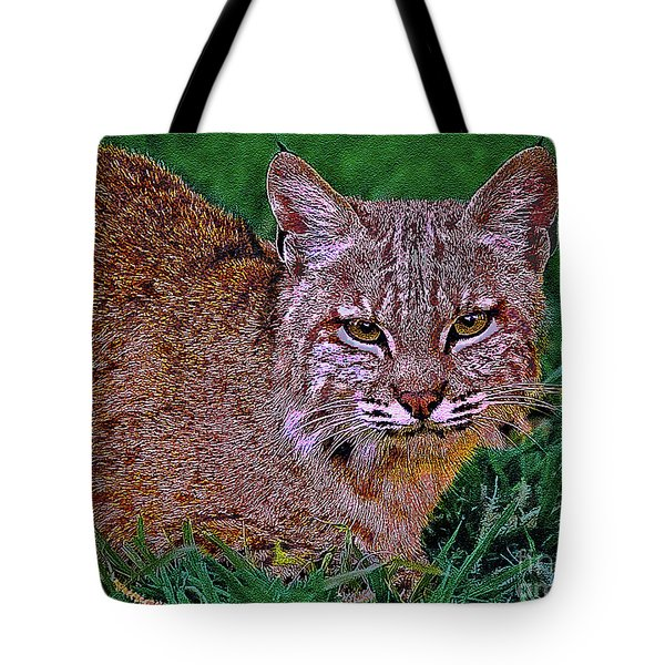Bobcat Sedona Wilderness Tote Bag by  Bob and Nadine Johnston