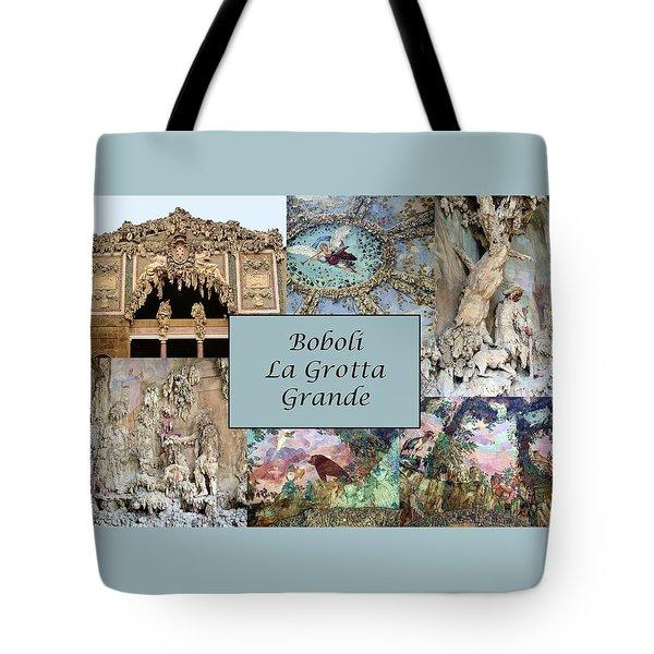 Boboli La Grotta Grande 1 Tote Bag by Ellen Henneke