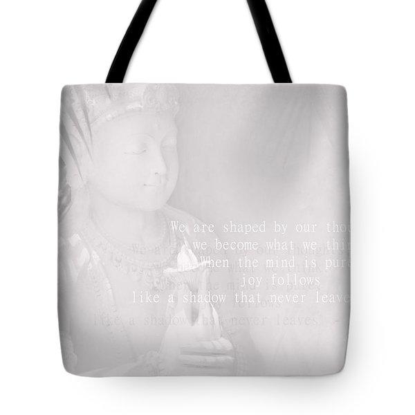 Bodhisattva Tote Bag by Sharon Mau
