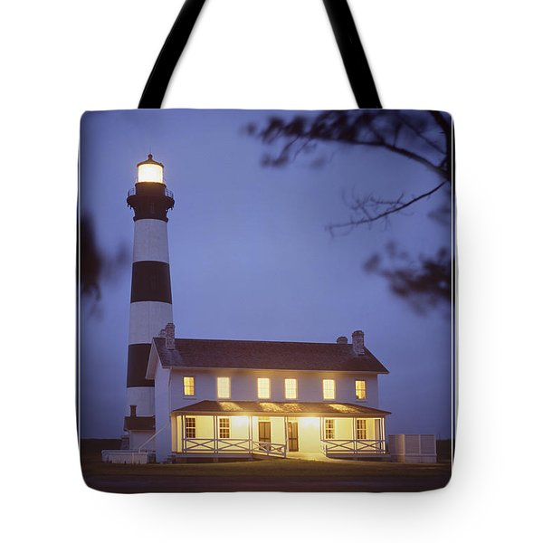 Bodie Light Just After Dark Tote Bag by Mike McGlothlen