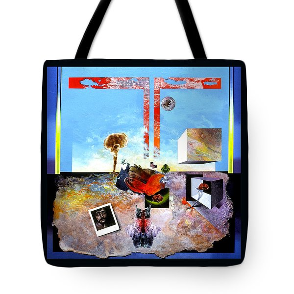 Bogomil Objects Tote Bag by Otto Rapp