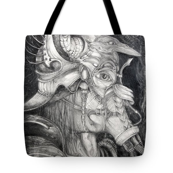 Bogomils Duckhunting Mask Tote Bag by Otto Rapp