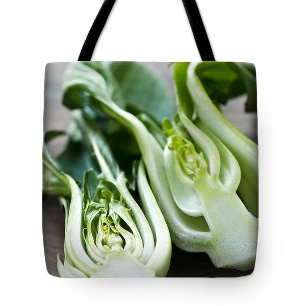 Bok Choy Tote Bag by Elena Elisseeva