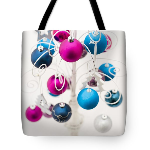 Bold Baubles Tote Bag by Anne Gilbert