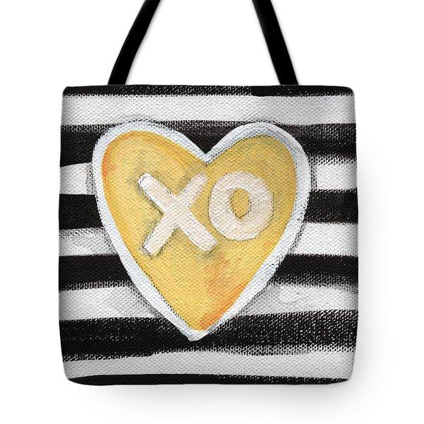 Bold Love Tote Bag by Linda Woods