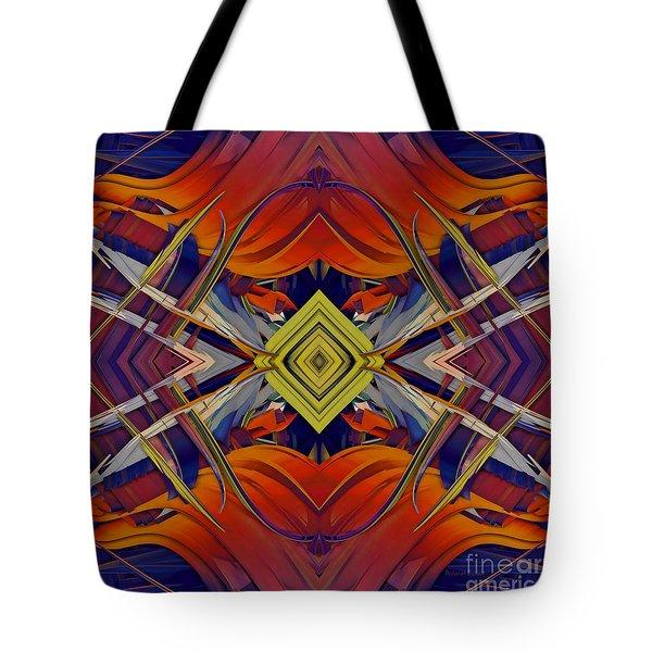 Boldness of Color Tote Bag by Deborah Benoit