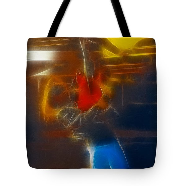 Bon Jovi-ritchie-gb2-fractal Tote Bag by Gary Gingrich Galleries