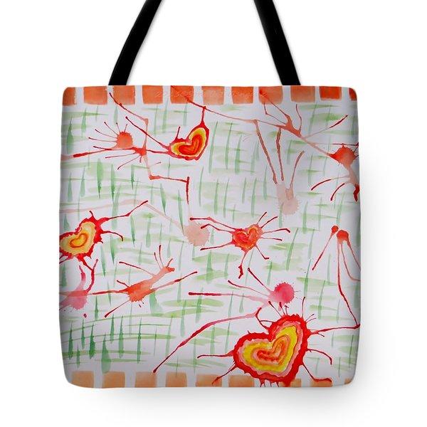 Bonds Of Love Tote Bag by Sonali Gangane