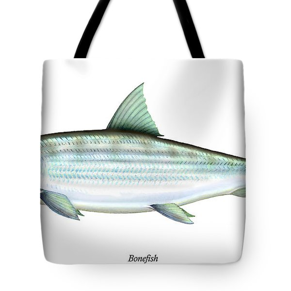 Bonefish Tote Bag by Charles Harden